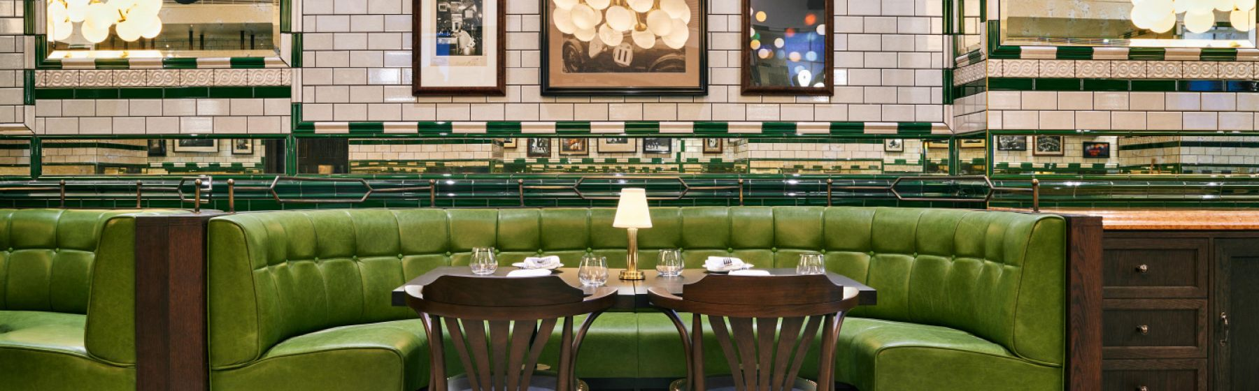 Isaac's Restaurant Interior